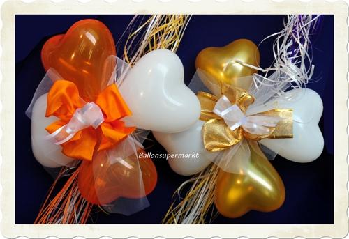 Herzluftballons - Luftballons Herzen